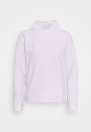 RECOVER WRAP NECK - Fleece jumper - crystal lilac