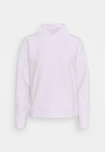 RECOVER WRAP NECK - Forro polar - crystal lilac
