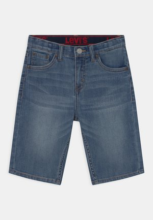 PERFORMANCE  - Jeans Short / cowboy shorts - stone blue denim