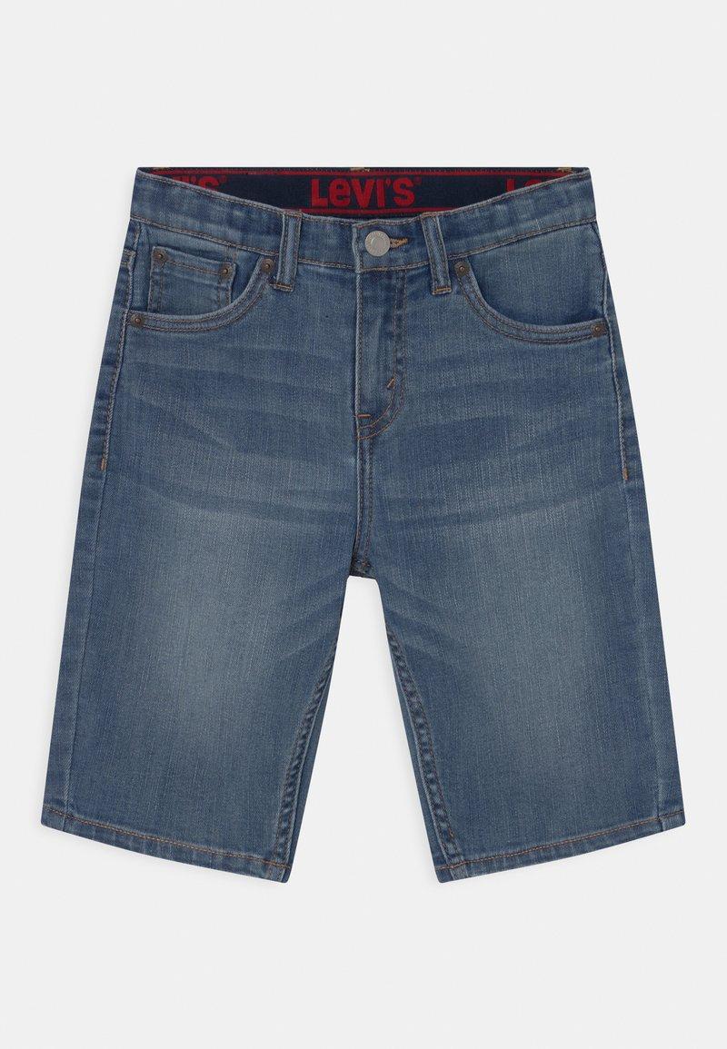 Levi's® - PERFORMANCE  - Denim shorts - stone blue denim