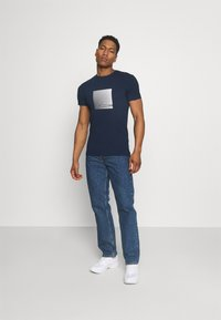 Antony Morato - SUPER SLIM FIT  - Print T-shirt - avio blue - 1