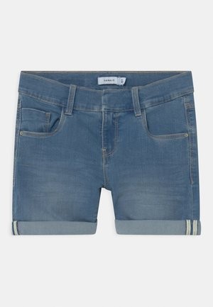 NKFSALLI - Jeans Short / cowboy shorts - medium blue denim