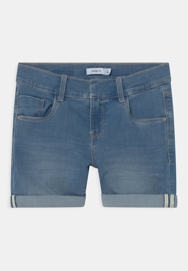 NKFSALLI - Shorts di jeans - medium blue denim