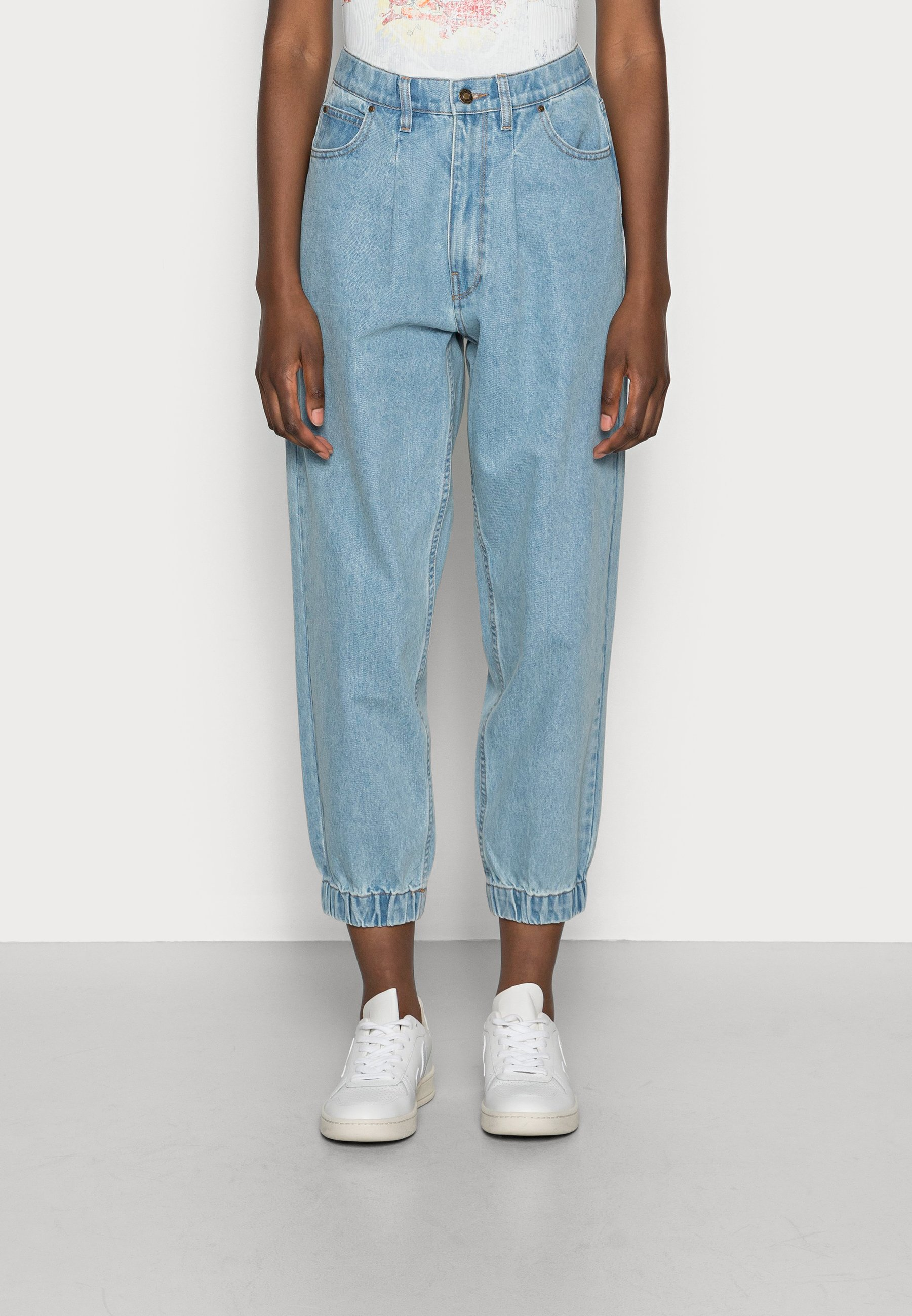 Donna BAGGER ANKLE - Jeans baggy