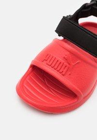 Puma - DIVECAT V2 INJEX  - Sandals - poppy red/black - 5
