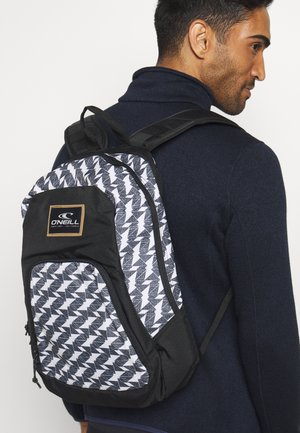 WEDGE BACKPACK - Plecak - white/black