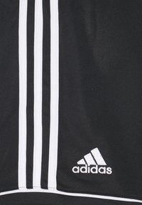 adidas Performance - SQUAD - Korte sportsbukser - black/white - 2