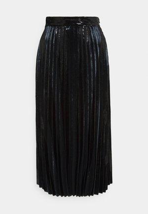 RAPLISSA - Pleated skirt - black