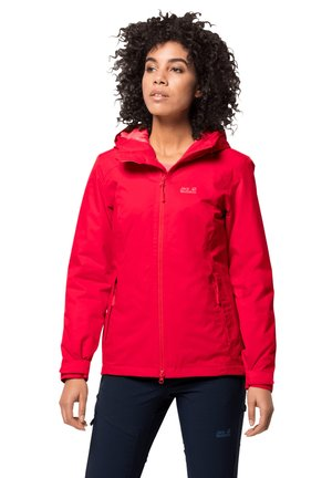 FROSTY - Soft shell jacket - clear red