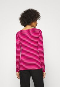 GAP - BATEAU - Maglietta a manica lunga - pink stripe - 2