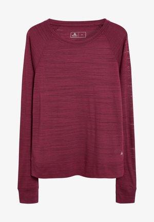 LONG SLEEVE  - Maglietta a manica lunga - berry