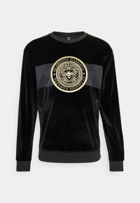 Glorious Gangsta - HERVAS CREW - Sweatshirt - black /gold