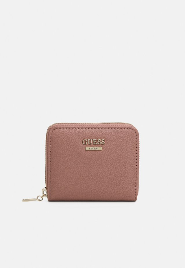 NAYA SMALL ZIP AROUND - Portefeuille - rosewood