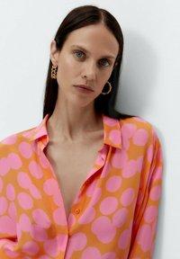 Uterqüe - Button-down blouse - multi coloured - 3