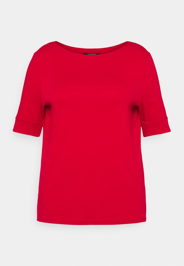 JUDY ELBOW SLEEVE - T-shirt basic - lipstick red