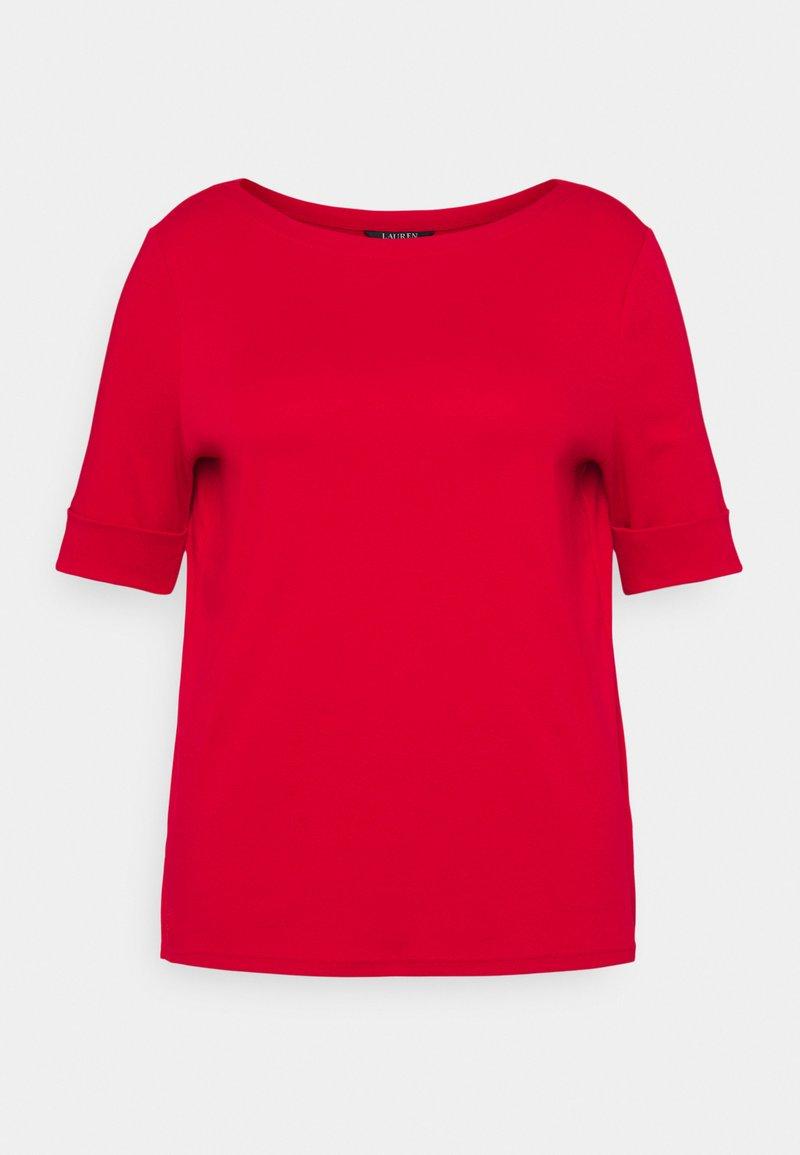 Lauren Ralph Lauren Woman - JUDY ELBOW SLEEVE - Basic T-shirt - lipstick red