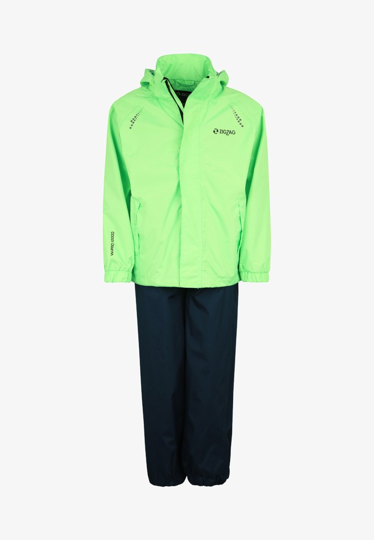 ZIGZAG - OPHIR  - Waterproof jacket - hellgrün
