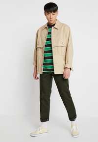 Dickies - 873 SLIM STRAIGHT WORK PANT - Trousers - olive green - 1