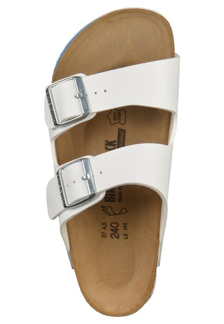 Birkenstock ARIZONA Pantolette flach white/weiß