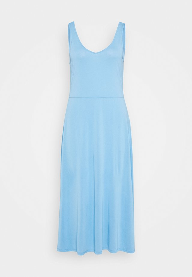 ELLA TANK DRESS - Jerseyjurk - little boy blue