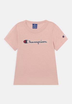 LOGO CREWNECK UNISEX - T-shirt imprimé - light pink