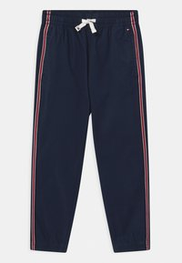 Tommy Hilfiger - TAPE PULL ON CUFFED  - Trousers - twilight navy - 0