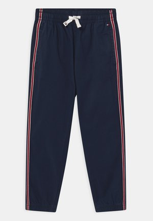 TAPE PULL ON CUFFED  - Trousers - twilight navy