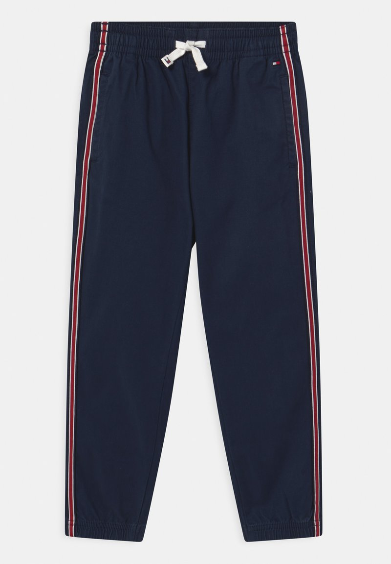 Tommy Hilfiger - TAPE PULL ON CUFFED  - Trousers - twilight navy