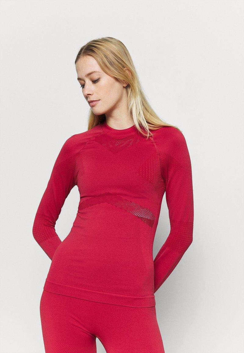 NU-IN - COMPRESSION  - Camiseta de manga larga - red
