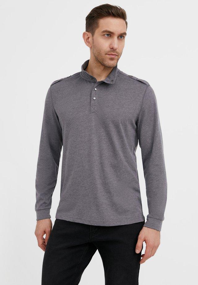 T-shirt à manches longues - dark grey melange