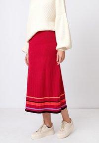 Ivko - Áčková sukně - rosewood - 0