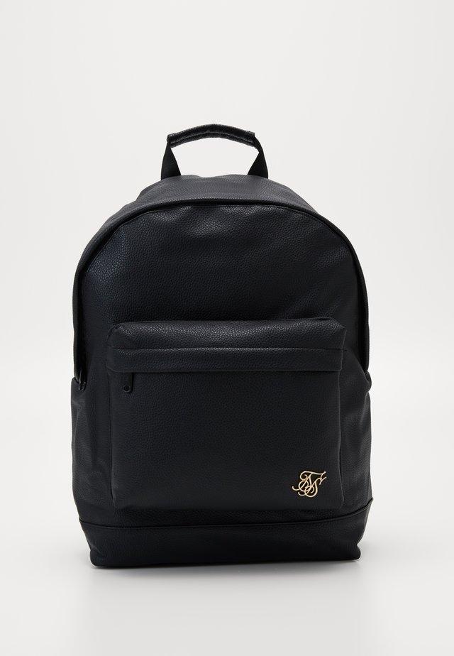 GRAINED BACKPACK - Plecak - black
