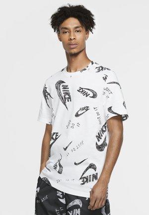 T-shirt con stampa - white/black