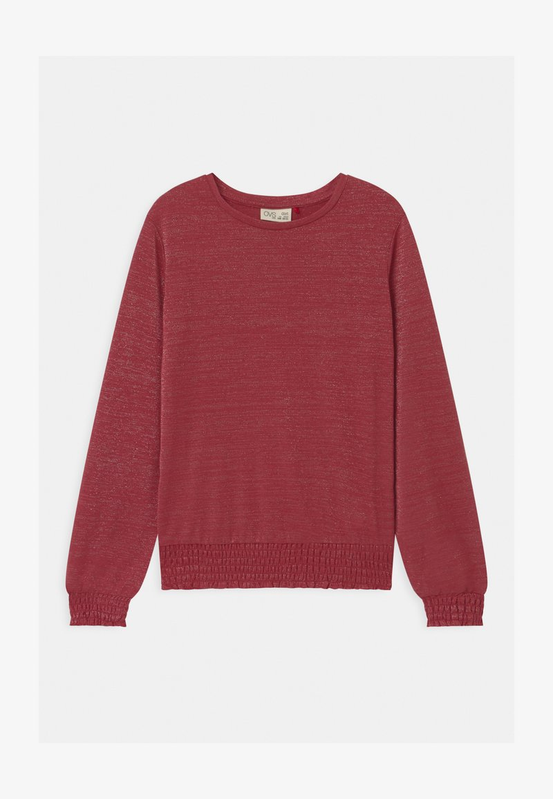 OVS - Long sleeved top - earth red