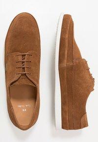 PS Paul Smith - BROC - Volnočasové šněrovací boty - tan - 1