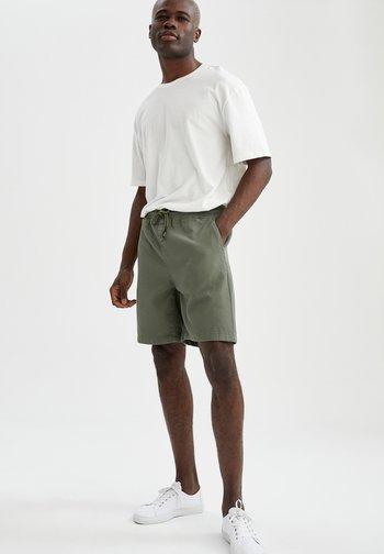 Tracksuit bottoms - khaki