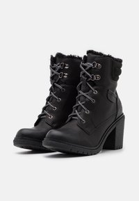 Refresh - Lace-up ankle boots - black - 2