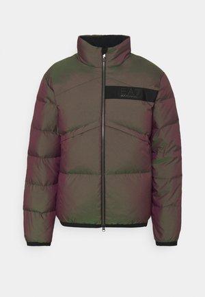 Down jacket - multi-coloured