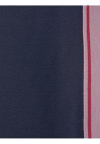 TOM TAILOR - MIT GESTREIFTEM TAPE - Trousers - peacoat|blue - 2