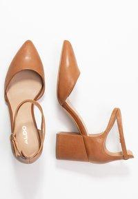 ALDO - BROOKSHEAR - Classic heels - cognac - 3
