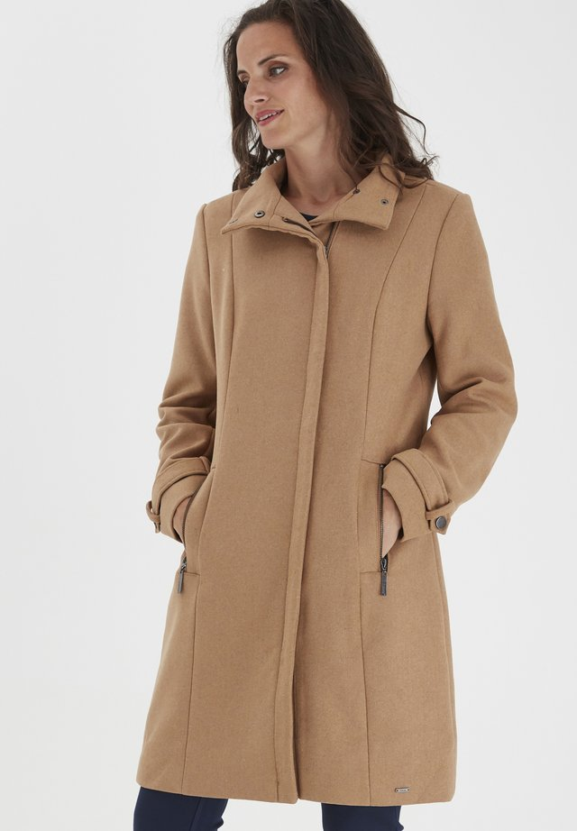 FRLAWOOLY - Classic coat - chipmunk