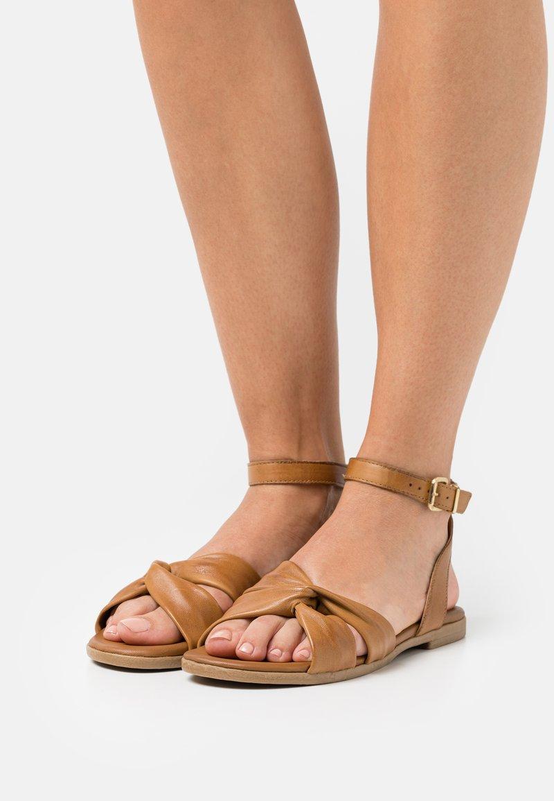 Anna Field - COMFORT LEATHER - Sandals - cognac