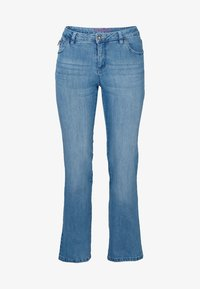 Sheego - Flared Jeans - light blue - 4