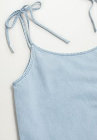 Mango - DALIA - Denimové šaty - halvblå - 5