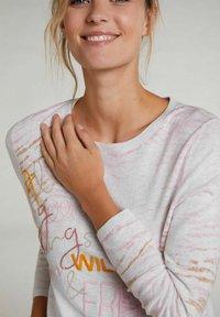 Oui - Sweatshirt - rose white - 3