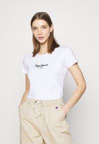 Pepe Jeans - NEW VRIGINIA SHORT SLEEVE 2 PACK - Basic T-shirt - black/white - 1