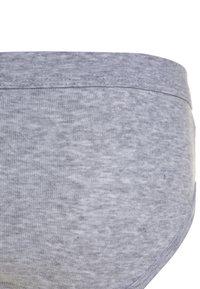 Sanetta - 3 PACK - Kalhotky - hellgrau melange - 4