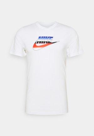 TEE BRANDMARK - T-shirt med print - white