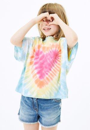 BOXY SHAPED  - T-shirt print - multi-coloured