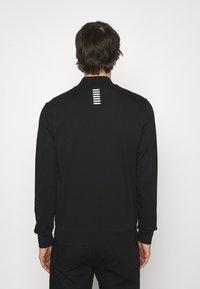 EA7 Emporio Armani - Zip-up sweatshirt - black - 2